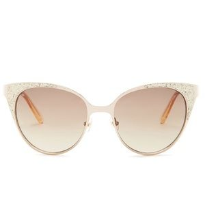 Back in! • Kate Spade • Gold Cat Eye Sunglasses